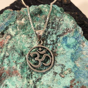 Om Necklace - Necklace - AlphaVariable