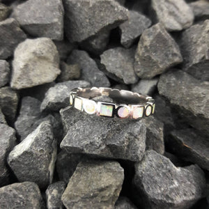 Opal Band Ring - Ring - AlphaVariable