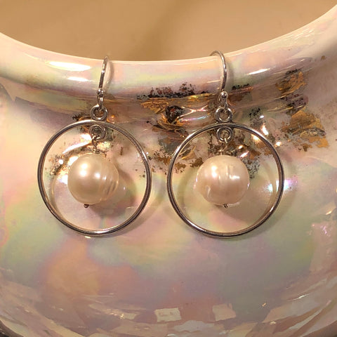 Pearl Earrings - Earrings - AlphaVariable