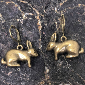 Rabbit Earrings - Earrings - AlphaVariable