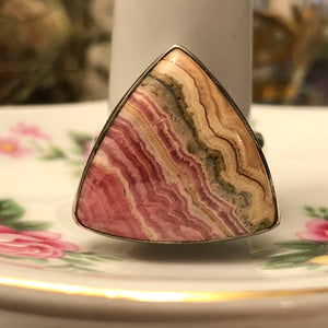 Rhodochrosite Ring - Ring - AlphaVariable