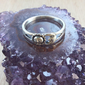 moon ring celestial jewelry