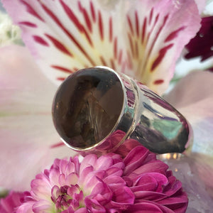 Smokey Quartz Ring - Ring - AlphaVariable