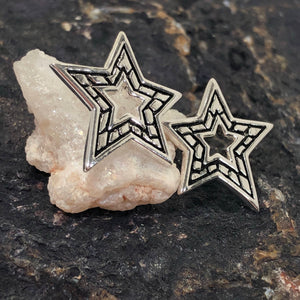 Star Earrings - Earrings - AlphaVariable