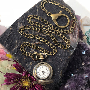 Skeleton Rib Cage Pocket Watch - Pocket Watch Necklace - AlphaVariable
