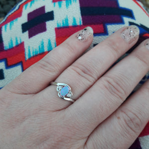 opal ring - Ring - AlphaVariable