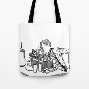 Wizard of Menlo Park Tote Bag - Tote Bags - AlphaVariable