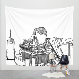 Edison Tapestry - Tapestry - AlphaVariable