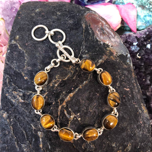 Tiger's Eye Bracelet - Bracelet - AlphaVariable
