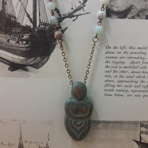 Woman Warrior Necklace