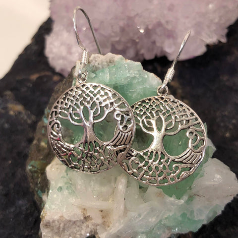 Celtic Tree of Life Earrings -  - AlphaVariable