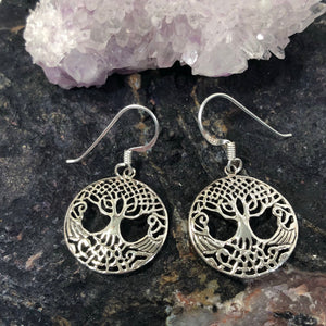 Celtic Tree of Life Earrings - Earrings - AlphaVariable