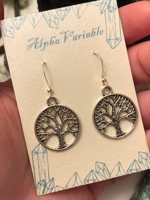 Tree of Life Earrings - Earrings - AlphaVariable