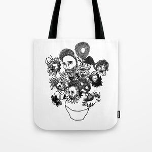 Van Gogh's Sunflowers Tote Bag - Tote Bag - AlphaVariable