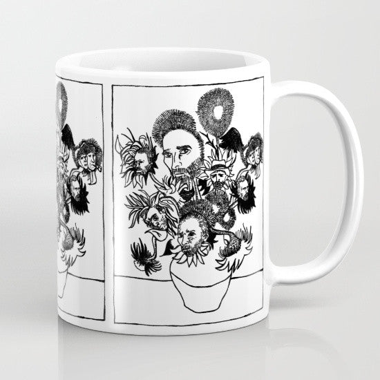 Van Gogh's Sunflowers Coffee Mug - Coffee Mug - AlphaVariable