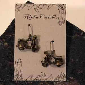 Scooter Earrings - Earrings - AlphaVariable