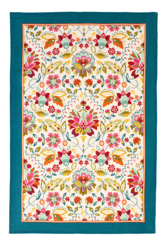 "Ulster Weavers, ""Bountiful Floral"", Pure linen printed tea towel. - Home Landing"