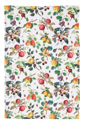 "Ulster Weavers, ""RHS Fruits"", Pure cotton printed tea towel. - Home Landing"