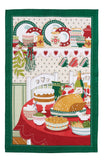 "Ulster Weavers, ""Turkey Feast"", Pure linen printed tea towel. - Home Landing"
