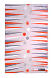 "Ulster Weavers, ""Mini Moderns Backgammon"", Pure cotton printed tea towel"