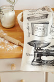 "Ulster Weavers, ""Baking"", Pure cotton printed tea towel - Home Landing"