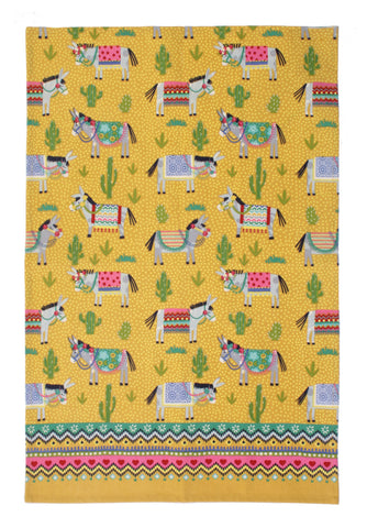 "Ulster Weavers, ""Cactus Jack"", Pure cotton printed tea towel - Home Landing"
