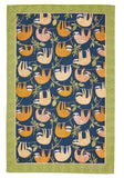 "Ulster Weavers, ""Hanging Around"", Pure cotton printed tea towel. - Home Landing"