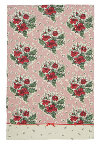 "Ulster Weavers, ""Horrockses Heidi"", Styled cotton tea towel - Home Landing"
