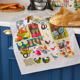 "Ulster Weavers, ""Home Grown"", Pure cotton printed tea towel. - Home Landing"