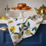 "Ulster Weavers, ""Lemons"", Pure cotton printed tea towel. - Home Landing"