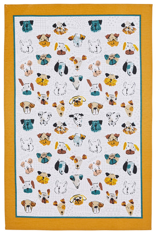 "Ulster Weavers, ""Mutley Crew"", Pure cotton printed tea towel. - Home Landing"