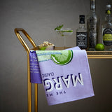 "Ulster Weavers, ""Wiscombe Margarita"", Pure cotton printed tea towel. Printed in the UK. - Home Landing"
