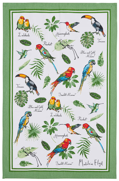Ulster Weavers Quot Tropical Birds Quot By Madeleine Floyd
