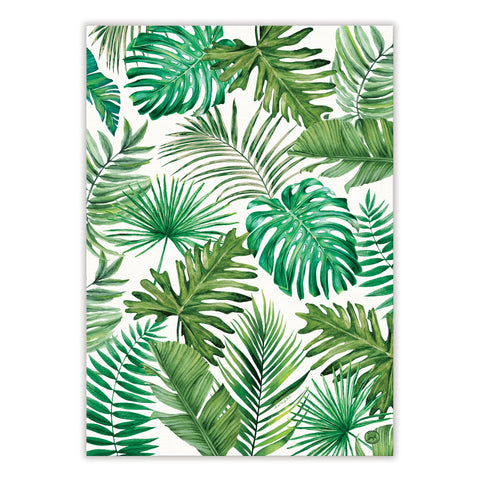 "Michel Design Works, ""Palm Breeze"", Pure cotton printed tea towel. - Home Landing"
