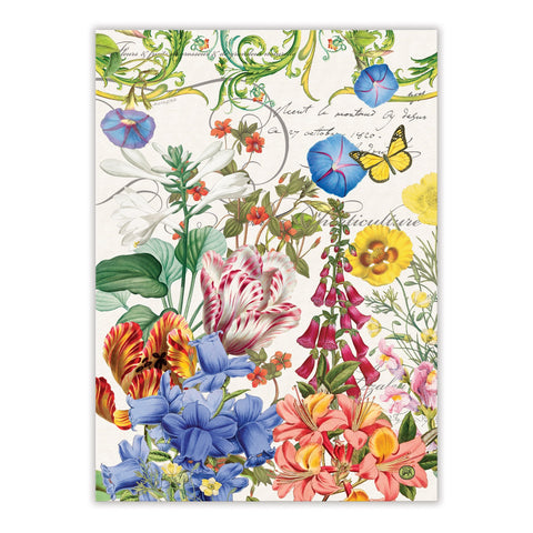 "Michel Design Works, ""Summer Days"", Pure cotton printed tea towel. - Home Landing"