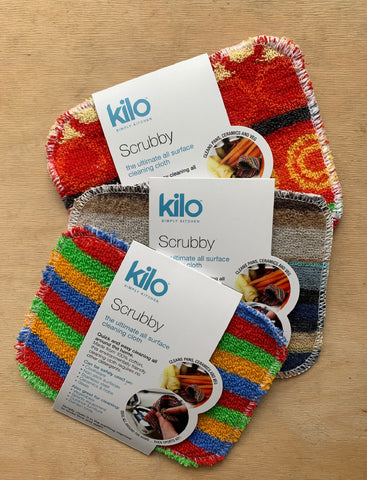 Kilo Euro Scrubby - Pack of 3