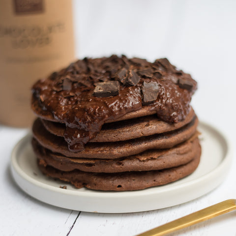Chocolate Pancakes Recipe Healthy Pancake Ingredients Your Super Your Super
