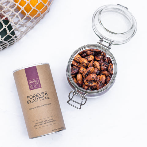 forever beautiful roasted almonds