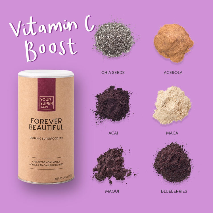 Your Superfoods Superfood Mix Forever Beautiful Mix