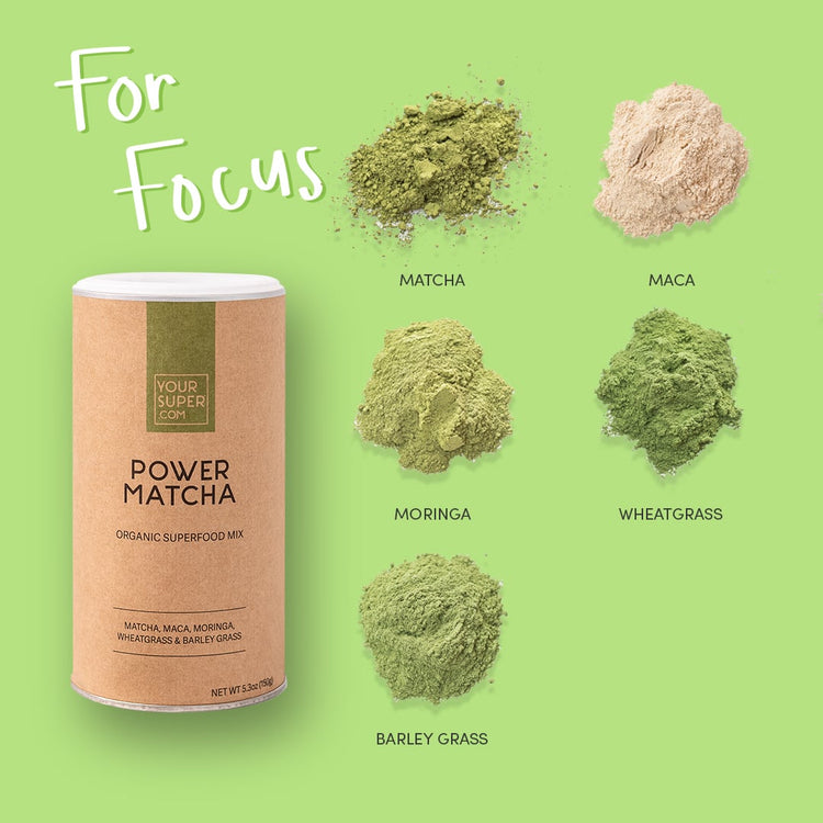 Your Superfoods Superfood Mix Power Matcha Mix