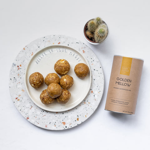 Golden Mellow Bliss Balls