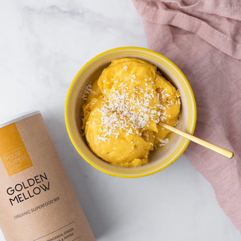 Turmeric Ice Cream