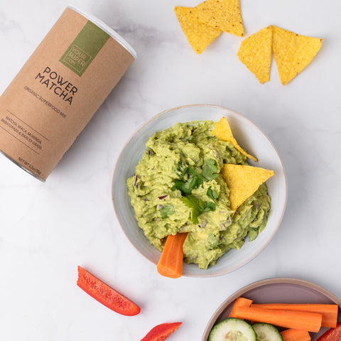 power matcha guacamole