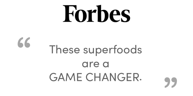 Forbes - 'These superfoods are a game changer'