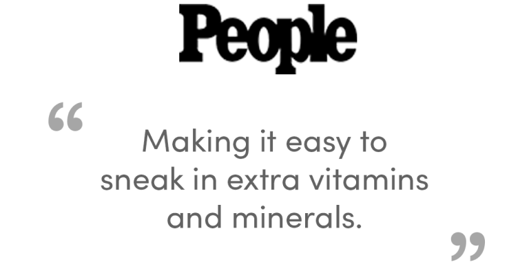 People - 'Making it easy to sneak in extra vitamins and minerals'