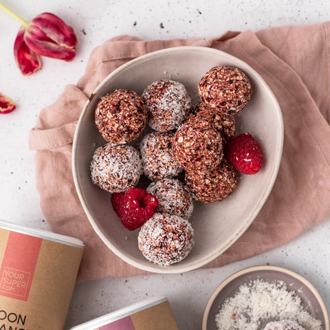 collagen berry bliss balls