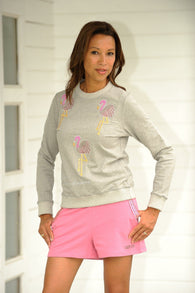Flamingo Sweater Chiné Grey