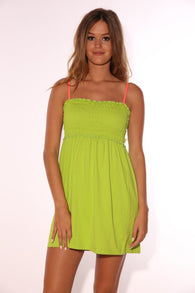 BUSTIER KC COOLMAX LIME