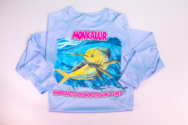 Performance Long Sleeve: Mahi Artwork