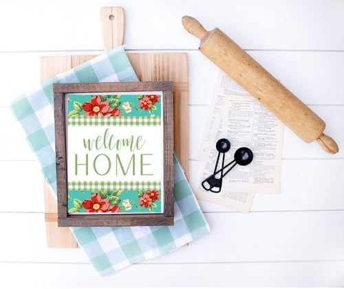 Pioneer Woman Welcome Home Printable - Southern Crush